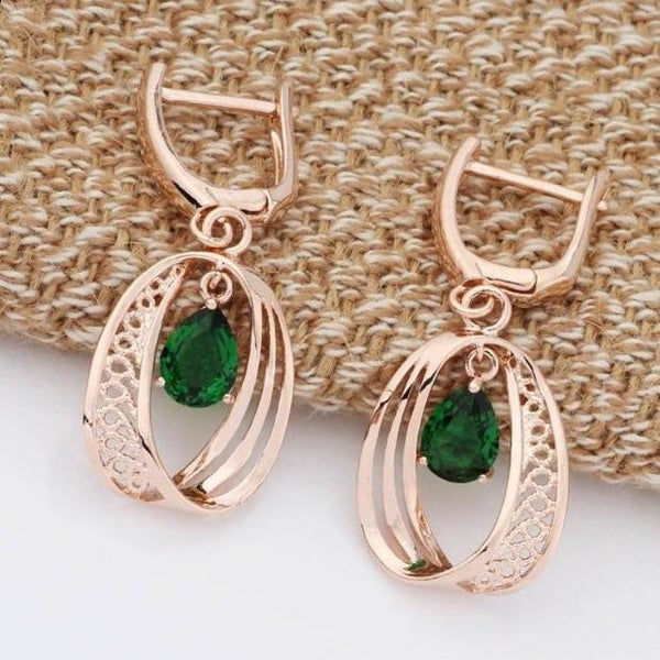 Water Drop Dangle Earrings
