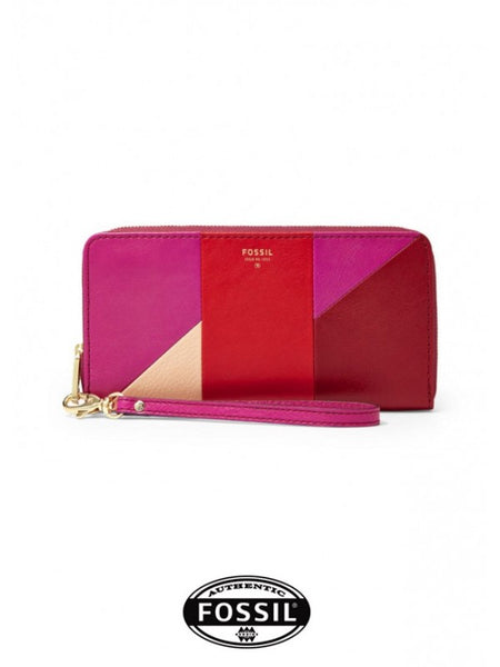 FOSSIL Patchwork Zip Clutch Bag FS0713W064R