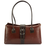 FLM Erminia leather handbag