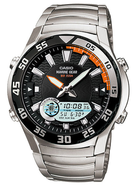 CASIO Men's Analog Digital Marine Gear AMW-710D-1AV