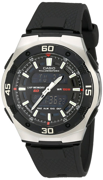CASIO Men's Analog Digital Youth Series Illuminator AQ-164W-1AV