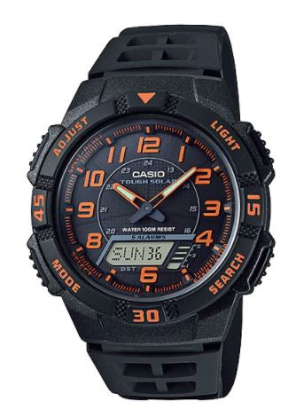 CASIO Men's Analog Digital Tough Solar AQ-S800W-1B2V