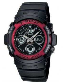 CASIO Men's G-Shock World Time Watch AW-591-4A