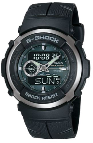 CASIO Men's G-Shock Analog-Digital Watch G-300-3AV