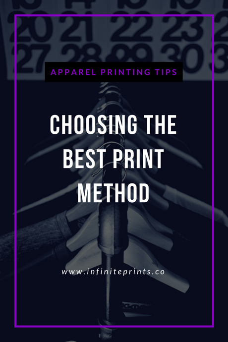 Apparel Printing Tips: Choosing the Best Print Method