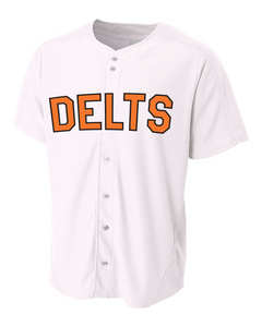 Delts Baseball Jersey Fall 2019