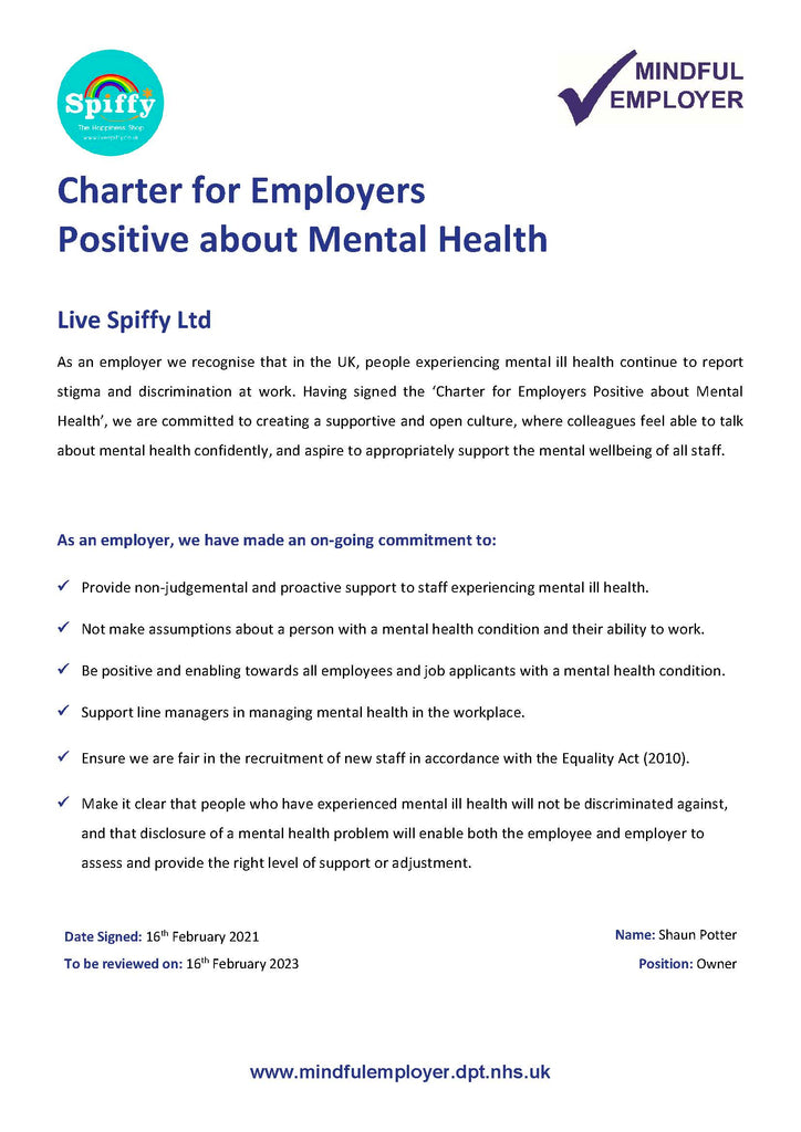 Mindful Employer Charter