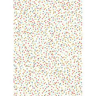 Multi Coloured Dots Sheet Wrap Wrapping Paper by Caroline Gardner - Cards & Gift Wrap - Spiffy