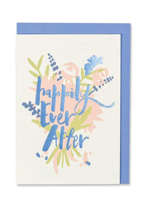 """Happily Ever After"" Foil Finish Wedding Day Card - Cards - Wedding and Engagement - Spiffy"