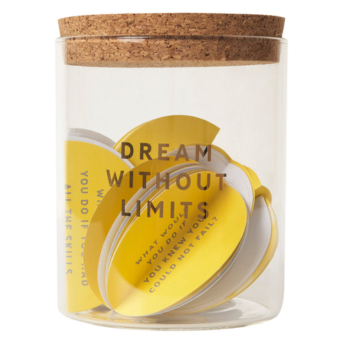 Dream Without Limits - 101 Dreams Jar - Idea Generators - Spiffy