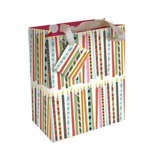 Candles Medium Gift Bag by Caroline Gardner - Gift Bags - Spiffy