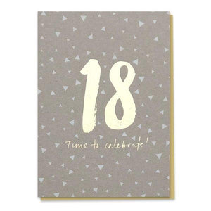 18 - Time To Celebrate! Birthday Card - Cards - Happy Birthday - Spiffy