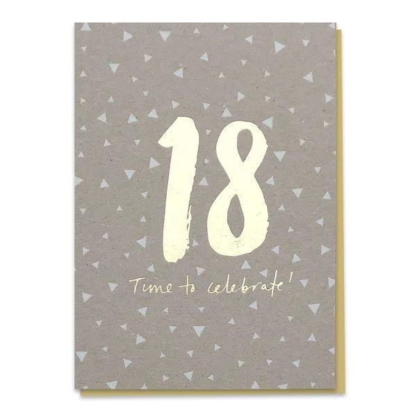 18 - Time To Celebrate! Birthday Card - Spiffy