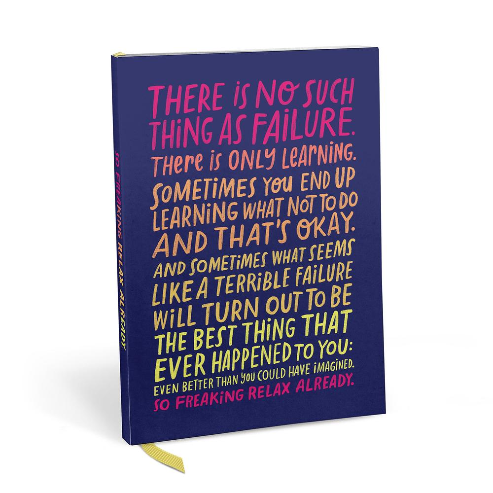 There Is No Such Thing As Failure Notebook - Spiffy