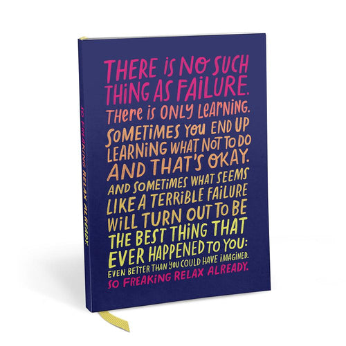 There Is No Such Thing As Failure Notebook