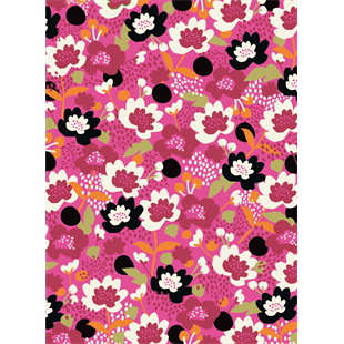 Floral Sheet Wrap Wrapping Paper by Caroline Gardner - Wrapping Paper - Spiffy