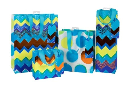 Blue Neon Homme Collection - Medium - Gift Bags - Spiffy