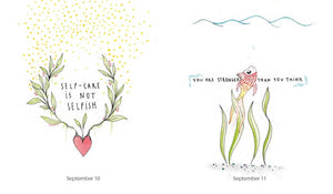 365 Gentle Reminders - Daily Positive Affirmations (Book by Natalie Dormady) - Books - Spiffy