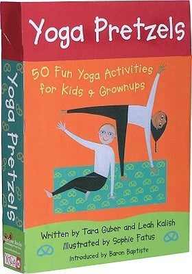 Yoga Pretzels: 50 Fun Yoga Activities for Kids and Grown-ups - Children's Activity Books - Spiffy