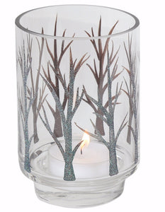 Branch Hurricane Candle Holder, 15cm - Candle Holders - Spiffy