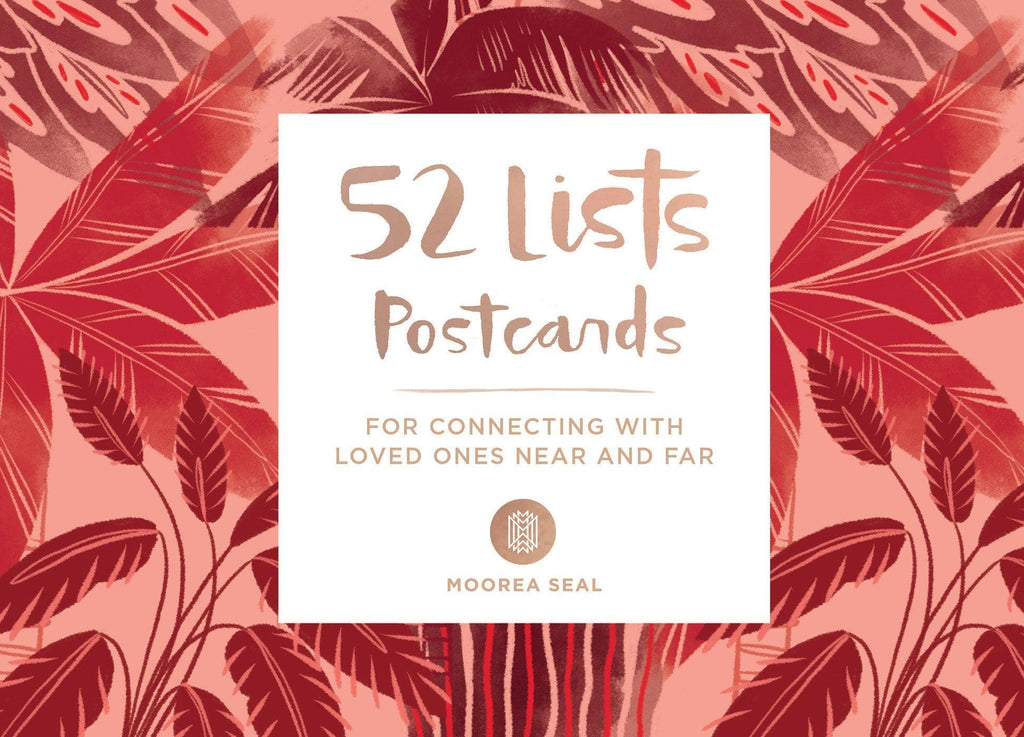 52 Lists Postcards - For Connecting With Loved Ones Near and Far - Spiffy