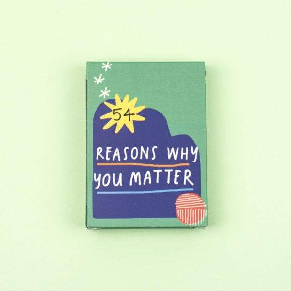 54 Reasons Why You Matter Card Pack - Spiffy
