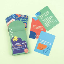 54 Reasons Why You Matter Card Pack - Inspirational Message Sets - Spiffy