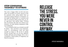 F*ck Stress: Tips and Advice on How to Banish Anxiety from Your Life (Book by Alex Martin) - Books - Spiffy