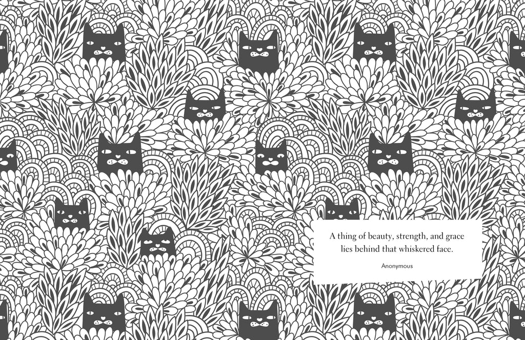 Keep Calm and Colour Cats Colouring Book - Spiffy