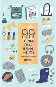 99 Things That Bring Me Joy Journal - Spiffy