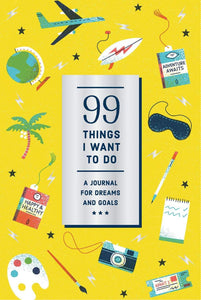 99 Things I Want To Do - A Journal for Dreams and Goals - Journals - Spiffy