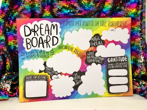 A3 Vision Board by Katie Abey - Planners - Spiffy