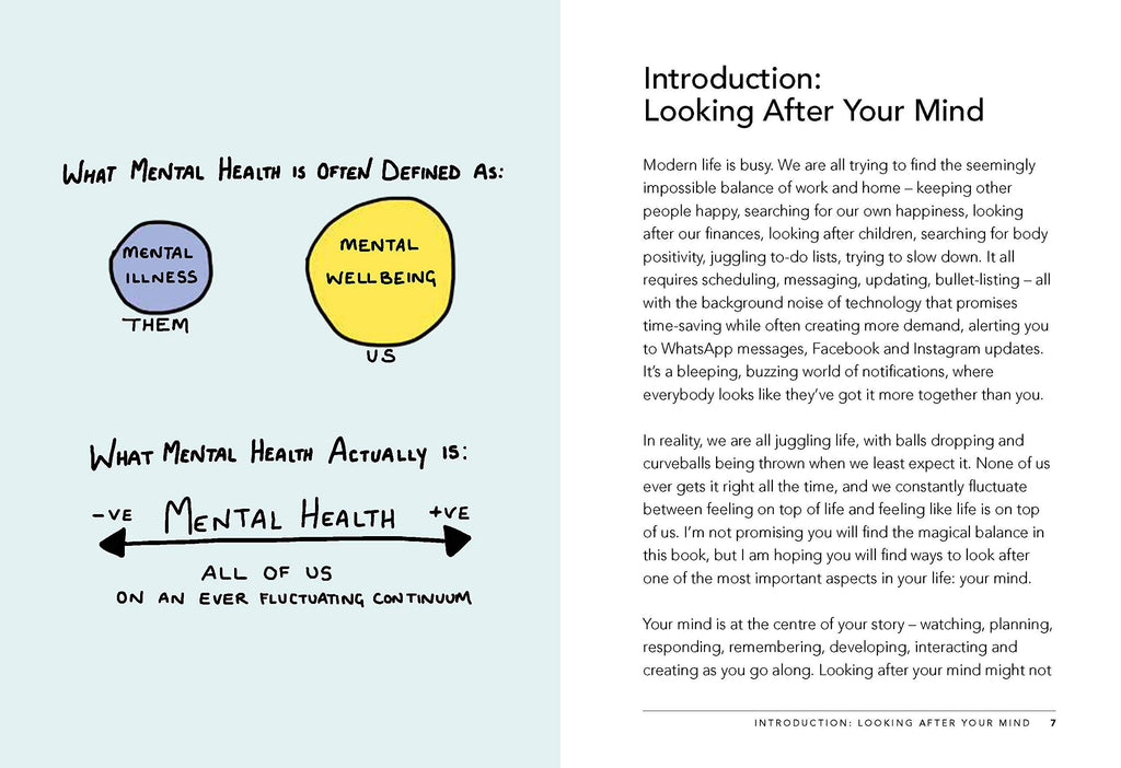 A Toolkit for Modern Life - 53 Ways to Look After Your Mind (Book by Dr Emma Hepburn) - Spiffy