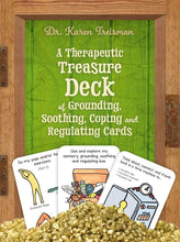 A Therapeutic Treasure Deck of Grounding, Soothing, Coping and Regulating Cards by Dr. Karen Treisman - Activity Cards - Spiffy