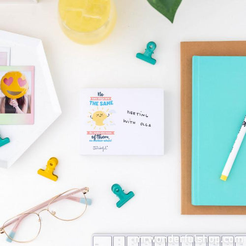 Notepad with Wonder-Advice - Notepads - Spiffy
