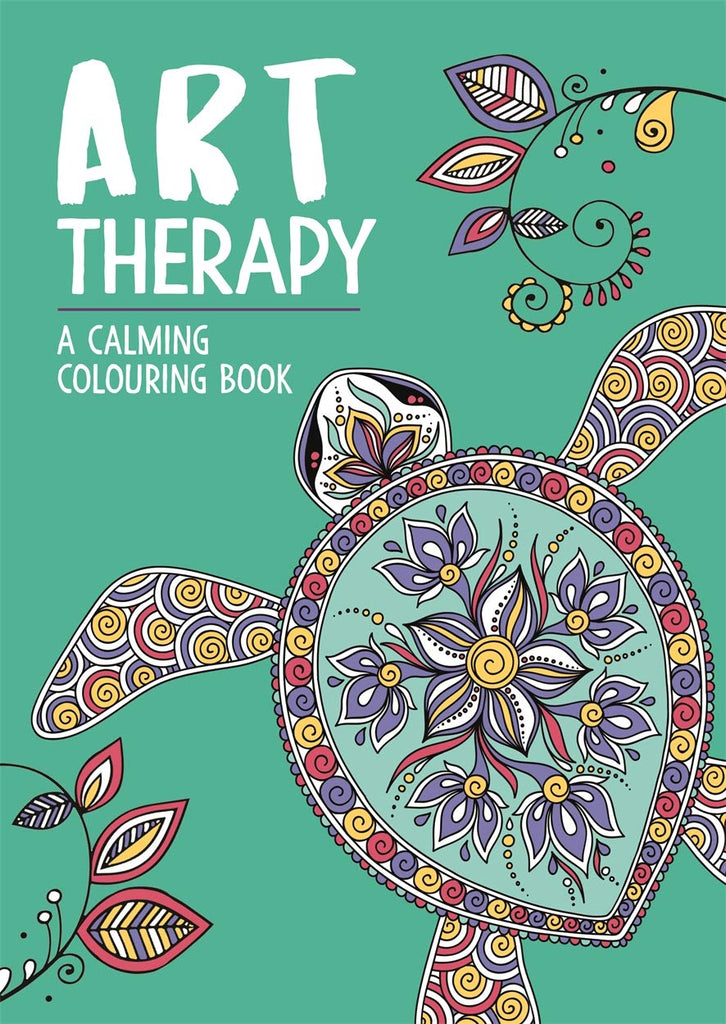 Art Therapy - A Calming Colouring Book - Spiffy