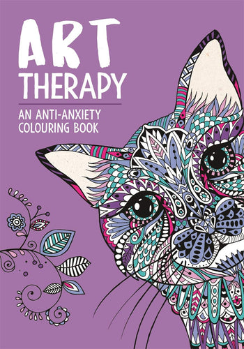 Art Therapy - An Anti Anxiety Colouring Book - Spiffy