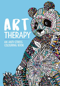 Art Therapy - An Anti-Stress Colouring Book - Spiffy
