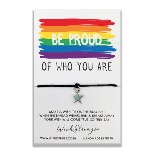 Be Proud - Wishstrings Wish Bracelet - Spiffy