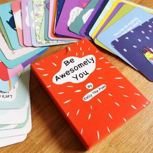 Be Awesomely You - Inspirational Children's Poetry Card Deck by Kelly The Poet - Spiffy