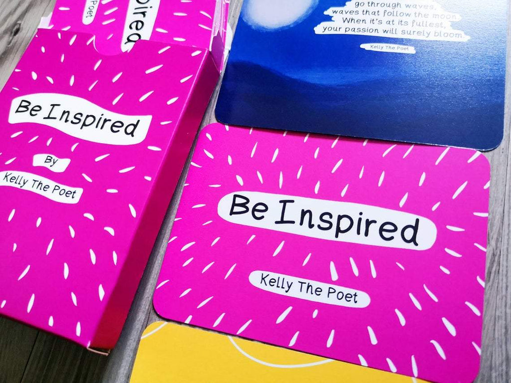 Be Inspired - Inspirational Poetry Card Deck by Kelly The Poet - Spiffy