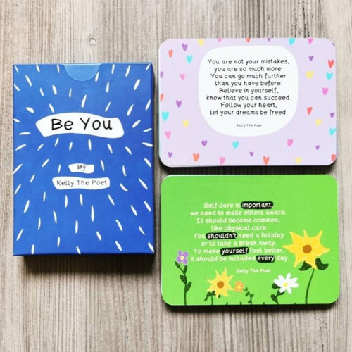 Be You - Inspirational Poetry Deck by Kelly The Poet - Spiffy