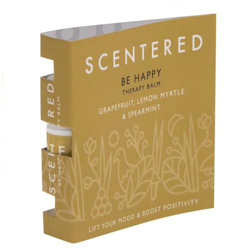 Scentered Be Happy Mini Therapy Balm - 1.5g in Booklet - Spiffy