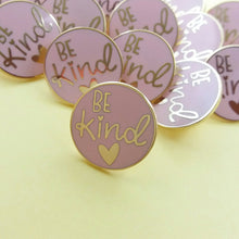 Be Kind Enamel Pin Badge - Enamel Pins - Spiffy