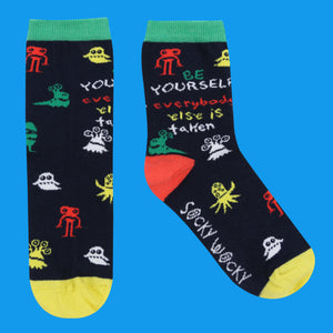 Be Yourself - Children's Socks - Children's Socks - Spiffy