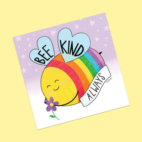 Bee Kind Always Postcard Print - Spiffy