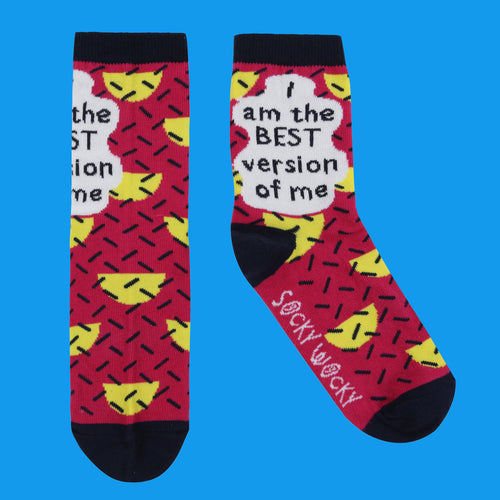 I Am The Best Version Of Me - Children's Socks