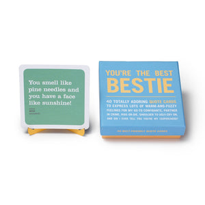 You're The Best Bestie Inner Truth Deck - Inspirational Message Sets - Spiffy