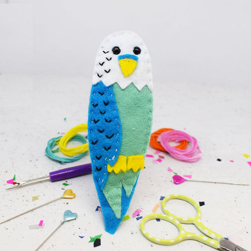 Billy Budgie Felt Sewing Kit - Sewing Kits - Spiffy