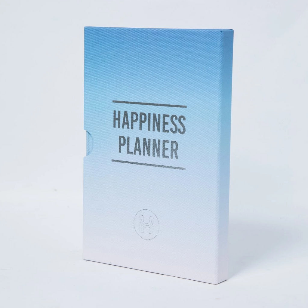 The 100 Day Planner - Blue and White - Spiffy